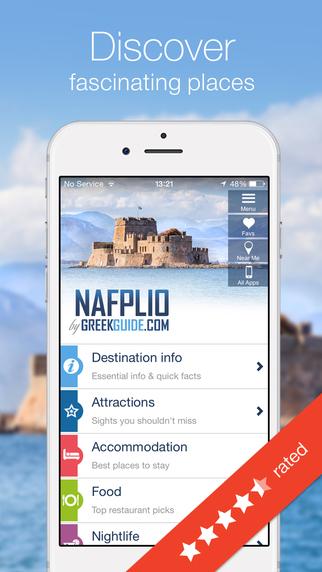 NAFPLIO by GREEKGUIDE.COM offline travel guide