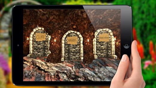 Cure For Fear Islamic app - 3D