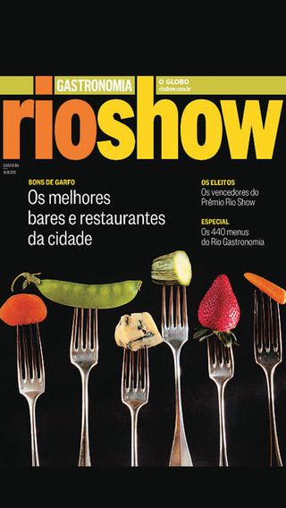 Guia Rio Show Gastronomia