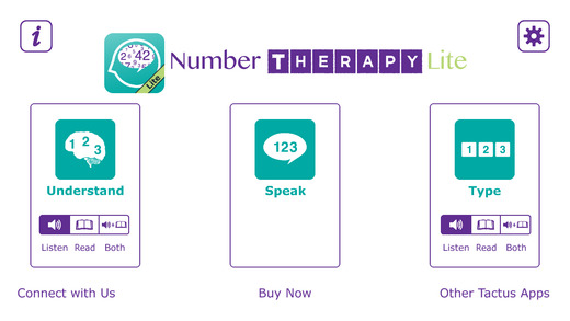 Number Therapy Lite - Communication Practice for Aphasia