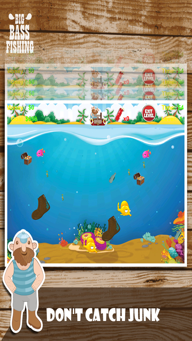 Deep sea pro fishing reel and catch ocean fish in your for Cool fishing games