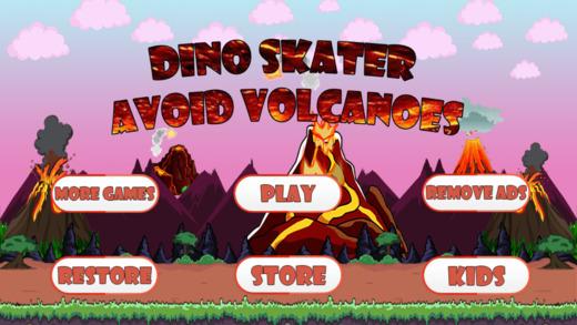 Baby Dino Volcano Skate Park : Dragon and Monster Escape Free