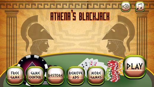 Athena's Blackjack - Free Casino Cards