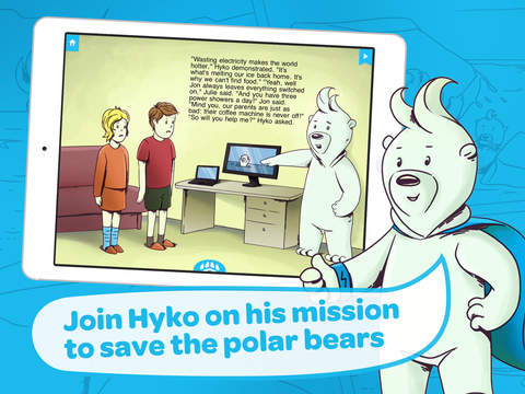 Hyko's Adventures: Melting Ice - an interactive storybook