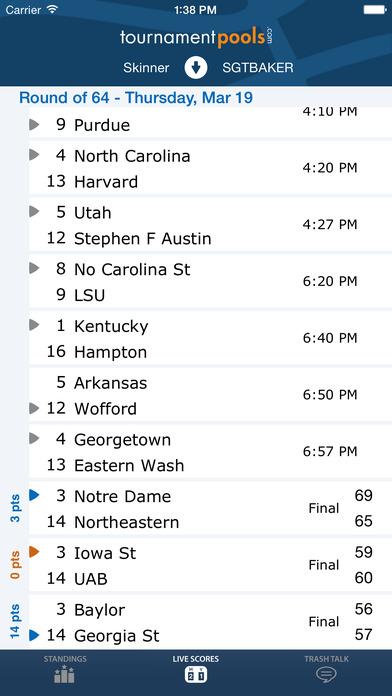 TP Hoops iPhone Screenshot 3