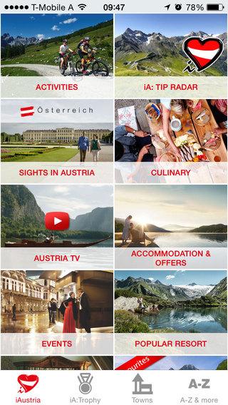 iAustria - The Travel Guide - Best of Austria.