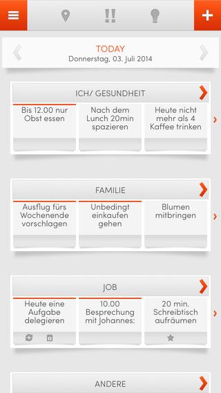 THINKIES - Die Work-Life Balance App