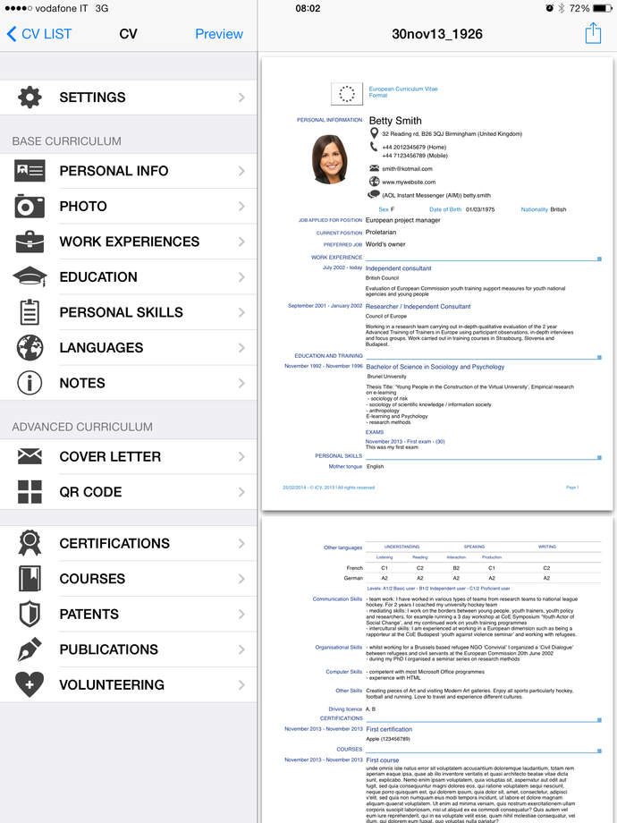 icv resume ios store store top apps app