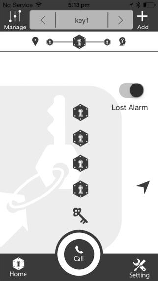 Sticknifind Keychain