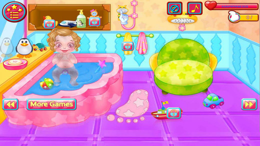 Baby Time - Play Sleep Diaper Bath Feed Dress up