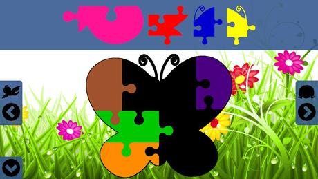 幼儿园自制动物拼图图片