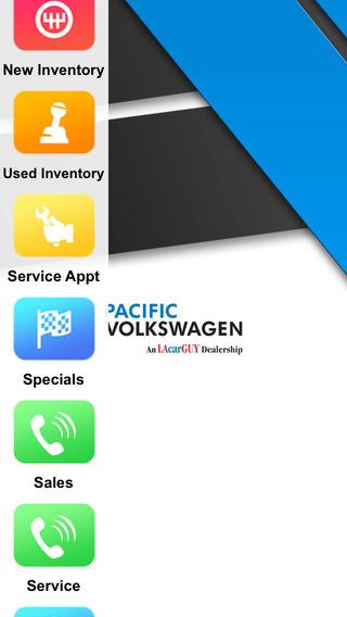 Pacific Volkswagen Dealer App