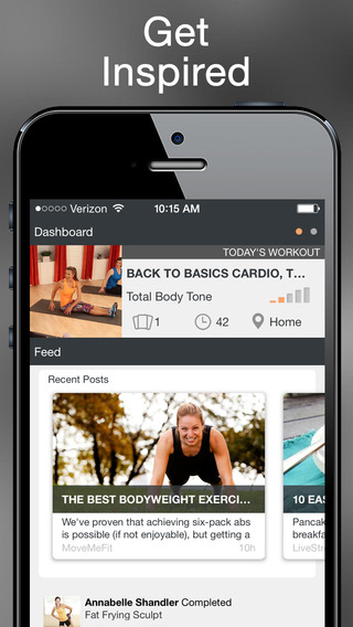 MoveMeFit – Workouts and Exercises Optimized to Get You Fit