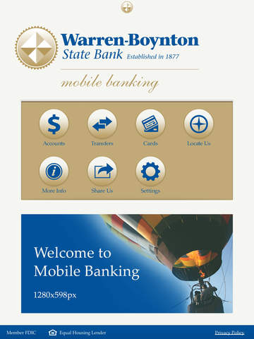 Warren-Boynton State Bank Mobile Banking