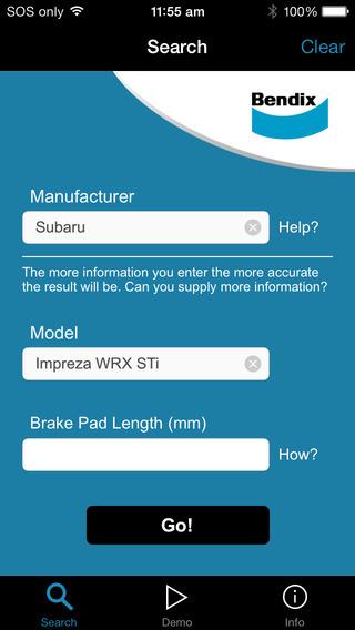 Bendix Brake Pad Identifier