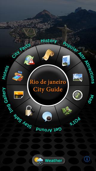 Rio de Janeiro Offline Map Travel Guide