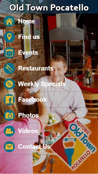 Old Town Pocatello App