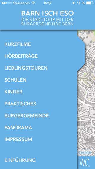 Bärn isch eso – der Stadtführer der Burgergemeinde Bern