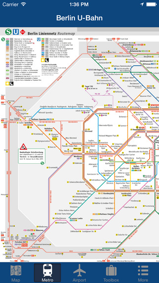 Berlin Offline Map - City Metro Airport Screenshots