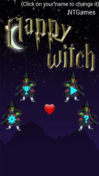 Flappy Witch - FREE