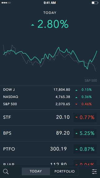 Portfolio: Stock Tracker and Brokerage Companion