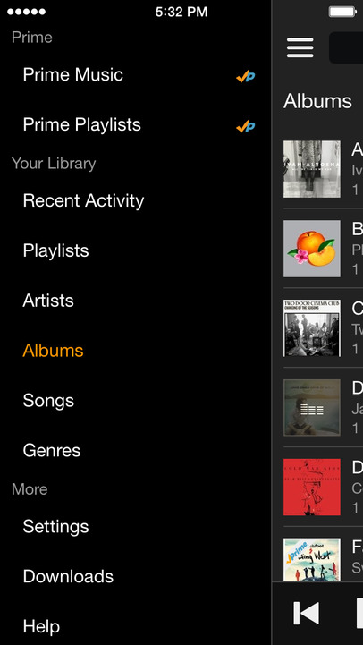Amazon Music with Prime Music - iPhone Mobile Analytics and App Store Data