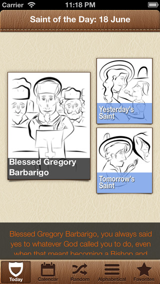 Saint of the Day for Kids : 365 Printable Sharable Catholic Saints
