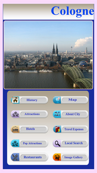 Cologne Offline Map Guide