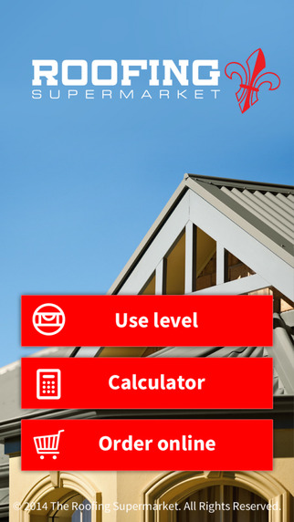 Roofing Supermarket Calculator