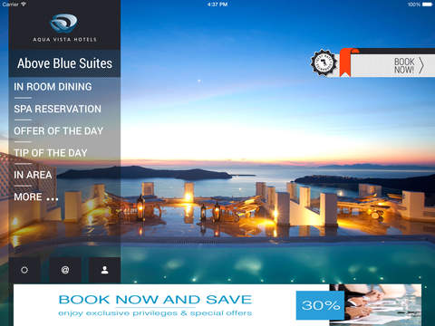 Above Blue Suites Experience