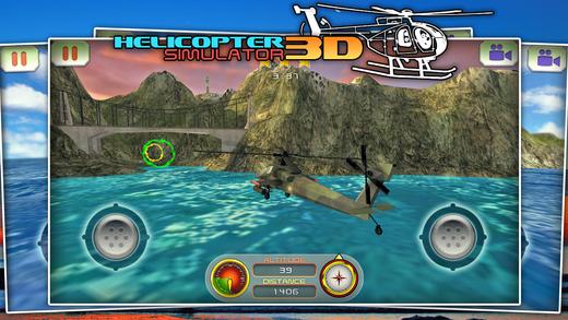 模拟直升机3d赛车游戏下载