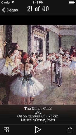 Degas lifework