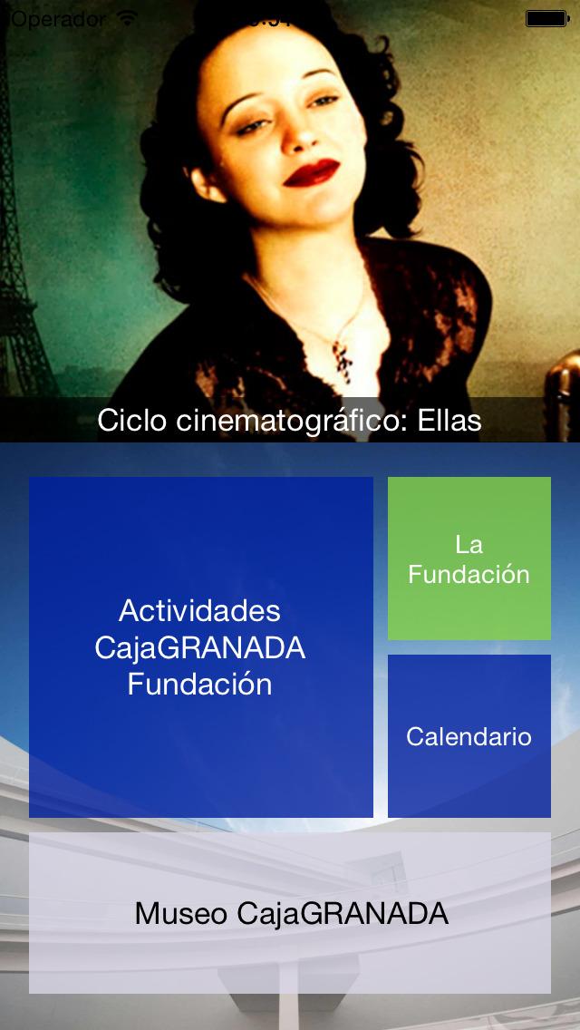 CajaGRANADA Fundacion Скриншоты3