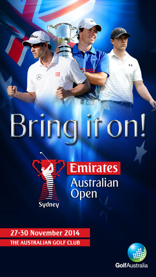 Emirates Australian Open Golf 2014