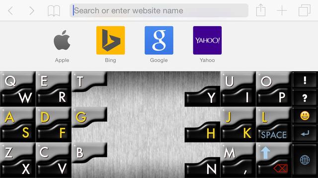Crystal Keyboard Screenshots