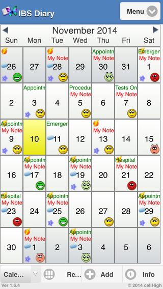 IBS Diary 2