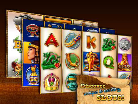 Slots - Pharaoh's Way  - The best free casino slots and slot tournaments! Screenshots
