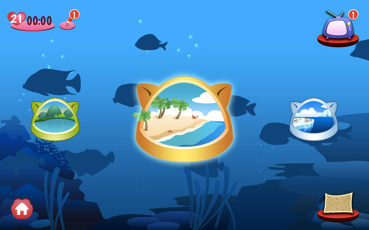 App shopper fishing cat games for Fish game for cats