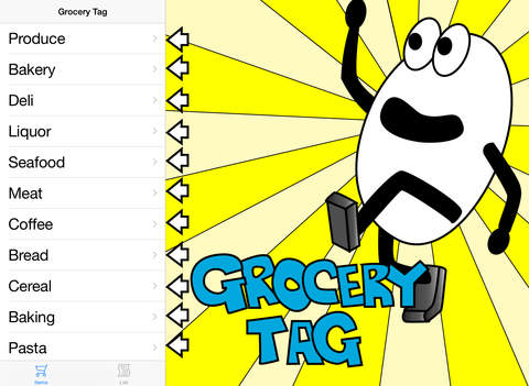 Grocery Tag