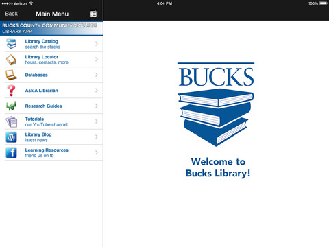 Bucks Mobile iPad Screenshot 1