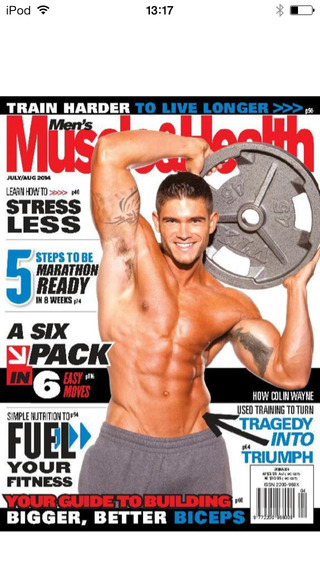 Men's Muscle and Health Magazine