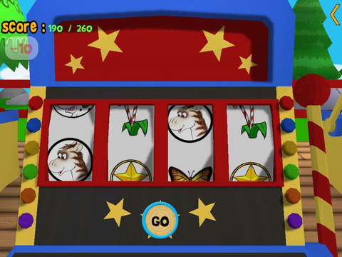 Cats slot machine for kids iPad Screenshot 4