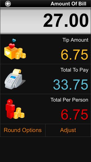 Cool Tip Calculator iPhone Screenshot 3