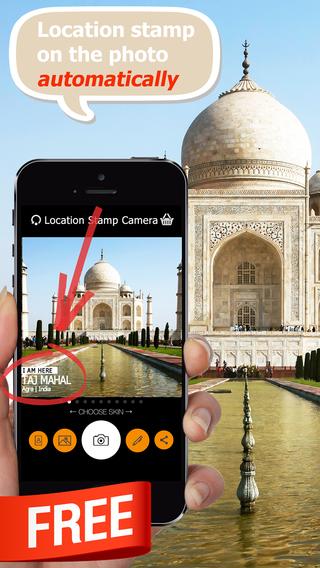 玩免費攝影APP|下載Location Stamp Camera app不用錢|硬是要APP