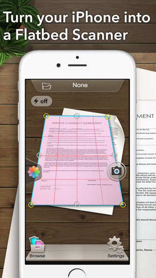 Scanner App - Scan PDF Print Fax Email and Upload to Cloud Storages