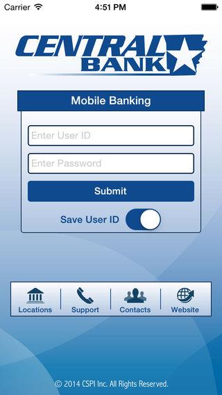 CentralBankAR Mobile Banking