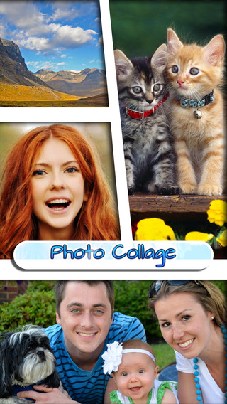 Photo Collage Editor with Best Effects Filters - Pic Montage for your Stitch Booth