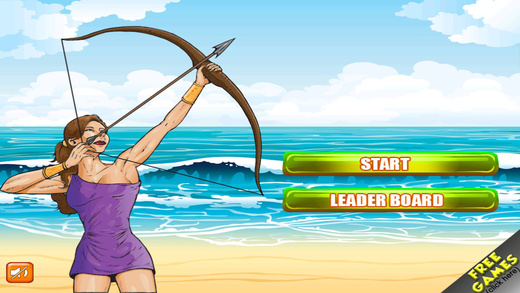 Bowmaster Archery Shooting Tournament - Target Longbow World Challenge Game Pro
