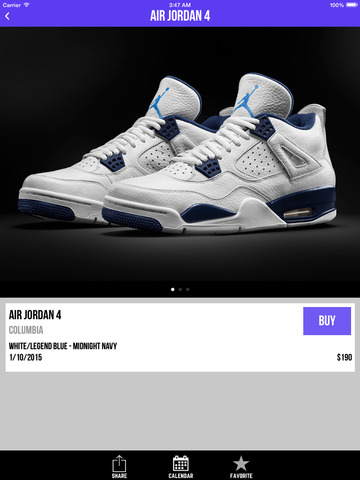 Sneaker Crush - Release Dates for Air Jordan & Nike Sneakers! screenshot