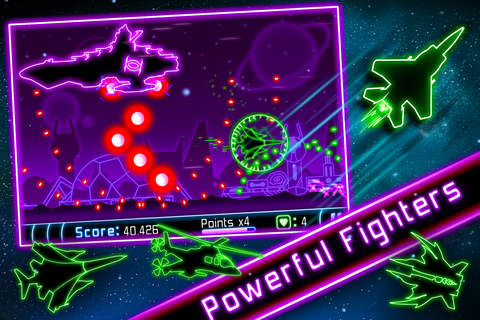 Neon War Machines - A retro style SHMUP screenshot 4